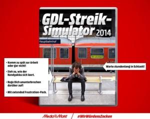 GDL-Streiksimulator